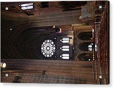 Washington National Cathedral - Washington Dc - 011390 Acrylic Print by DC Photographer