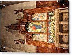 Washington National Cathedral - Washington Dc - 011398 Acrylic Print