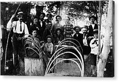 Acrylic Print featuring the photograph Washington Pioneers, C1900 by Granger