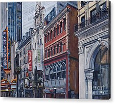 Washington Street In June Acrylic Print