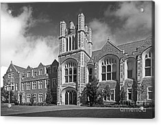 Washington University Anheuser- Busch Hall Acrylic Print by University Icons