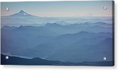 Washington View From Mount Saint Helens Acrylic Print