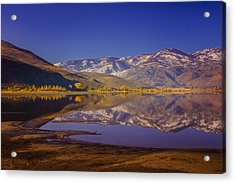 Washoe Lake In Late Fall Acrylic Print