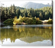 Acrylic Print featuring the photograph Washoe Valley by Carol Sweetwood