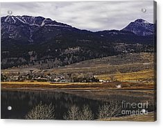 Washoe Valley Acrylic Print