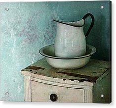 Washstand Still Life Acrylic Print