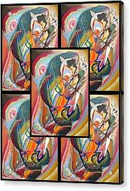 Wassily Kandinsky 2 Acrylic Print by Wassily Kandinsky