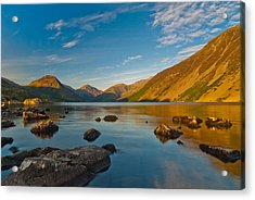 Wast Water Lake District Acrylic Print by David Ross