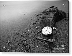 Wasted Time Acrylic Print