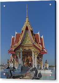 Wat Bukkhalo Central Roof-top Pavilion Dthb1809 Acrylic Print