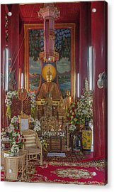 Wat Chedi Liem Phra Wihan Buddha Image Dthcm0827 Acrylic Print