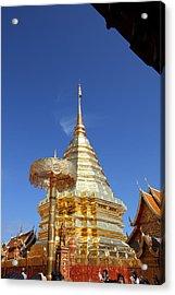 Wat Phrathat Doi Suthep - Chiang Mai Thailand - 011314 Acrylic Print by DC Photographer