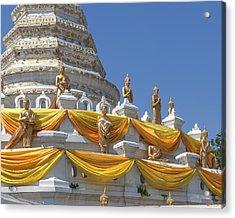 Wat Songtham Phra Chedi Buddha Images Dthb1916 Acrylic Print