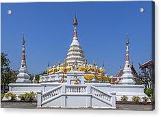Wat Songtham Phra Chedi Dthb1915 Acrylic Print