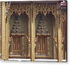 Wat Thung Setthi Ubosot Window Dthb1550 Acrylic Print