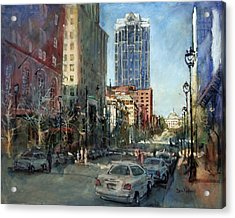 Watch Over Fayetteville Street Acrylic Print