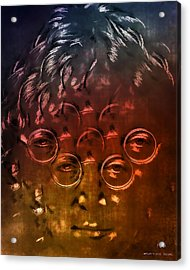 Watching The Wheels Acrylic Print by Pedro L Gili