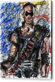 Watchmen - The Comedian Acrylic Print by Rachel Scott