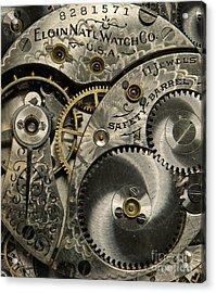 Watchworks Acrylic Print by Deborah Smith