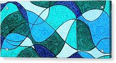 Water Abstract Acrylic Print