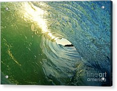 Water And Light Acrylic Print by Paul Topp