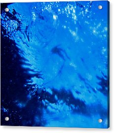 Water And Sky Acrylic Print by April Muilenburg