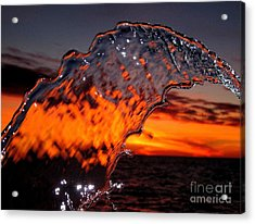 Water Art 2 Acrylic Print