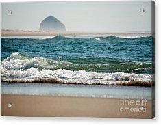 Water Blanket Acrylic Print by Deena Otterstetter