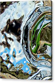 Water Captivates Acrylic Print