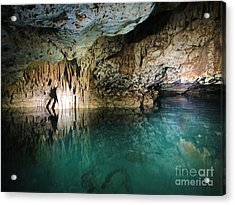 Water Cave Acrylic Print