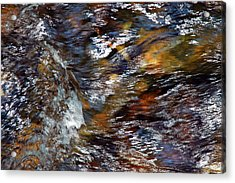 Acrylic Print featuring the photograph Water Color by Allen Carroll