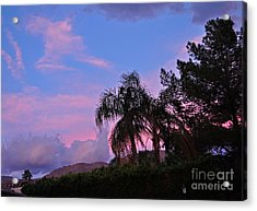 Water Colored Sky Acrylic Print by Jay Milo