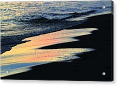 Water Colors .. Acrylic Print by Michael Thomas