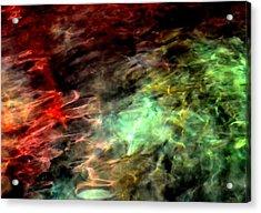 Water Colors Acrylic Print by Deena Stoddard