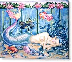 Water Dreams Acrylic Print