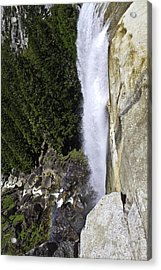 Acrylic Print featuring the photograph Water Fall by Brian Williamson