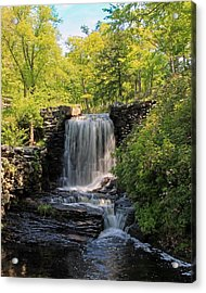 Water Fall Moore State Park 2 Acrylic Print