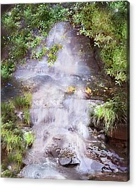 Water Falls Acrylic Print