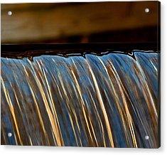 Water Falls Edge 3 Acrylic Print