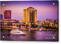Water Front Tampa Acrylic Print by Marvin Spates