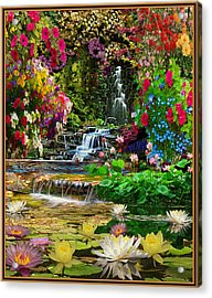 Water Gardens Acrylic Print