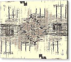 Water  Graph Acrylic Print