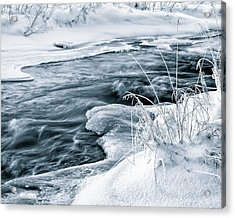 Water, Ice And Snow Acrylic Print