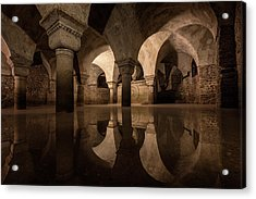 Water In The Crypt Acrylic Print