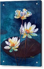 Water Lotus Acrylic Print
