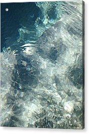 Water Acrylic Print by Marian Palucci-Lonzetta