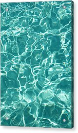 Water Meditation I. Five Elements. Healing With Feng Shui And Color Therapy In Interior Design Acrylic Print