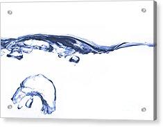 Wave - Splash Acrylic Print by Michal Boubin