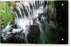 Water Noise And Light Acrylic Print by Phil Nolan