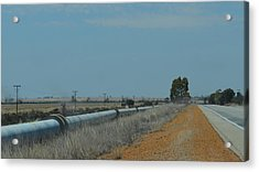 Water Pipeline Acrylic Print